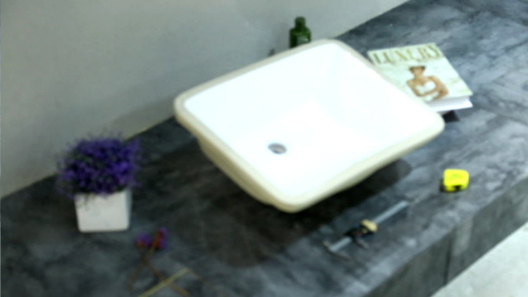 KEDIBO Square Undermount Ceramic basin