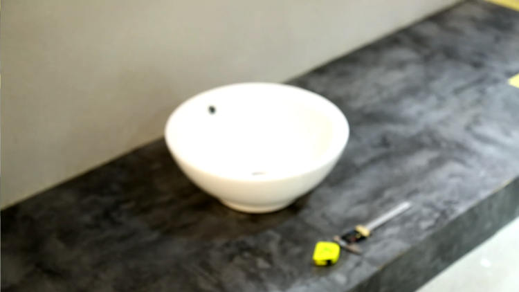 KEDIBO 's bowl shape round bathroom washing basin