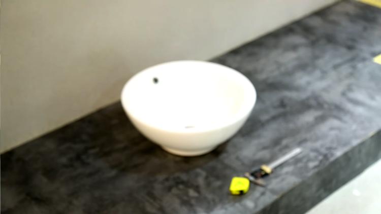KEDIBO 's bowl shape round bathroom washing basin