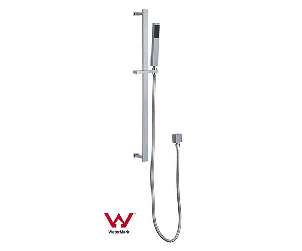 Watermark Approved Square Bathroom Sliding Shower Set