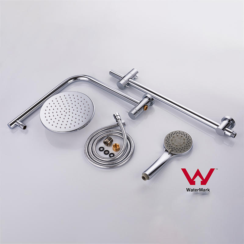 Watermark Approved Round Bathroom Assembly Shower Set