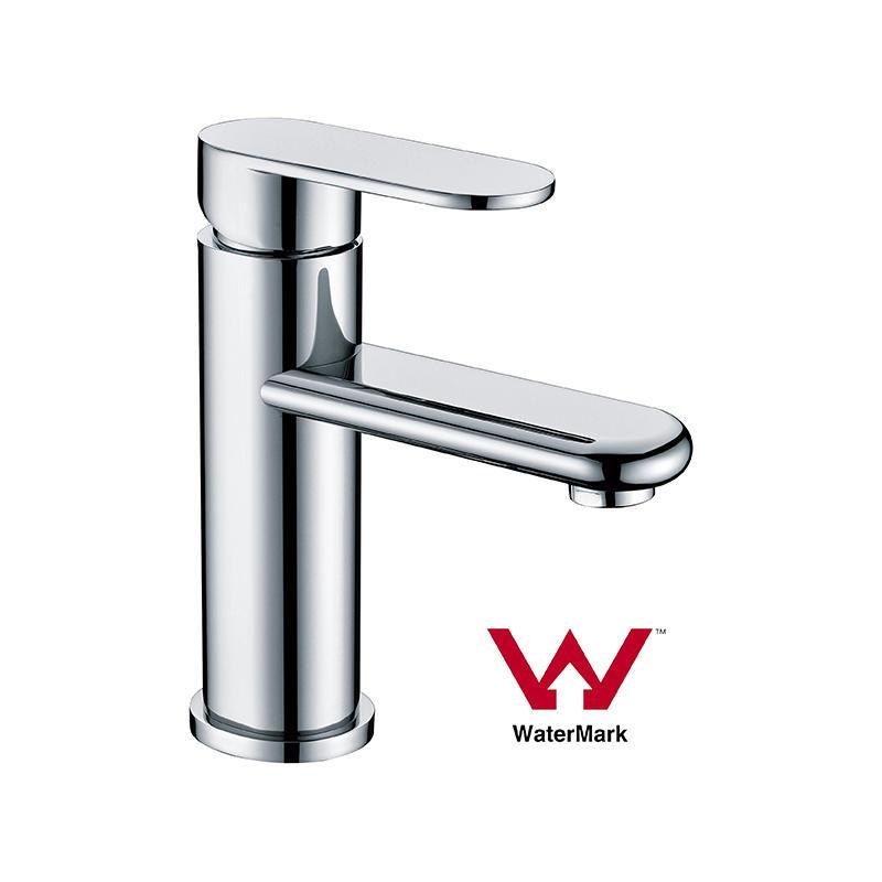 Watermark Bathroom Square Round Solid Brass Basin Tap