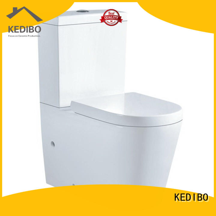 KEDIBO new arrival two piece toilet supplier for hotel