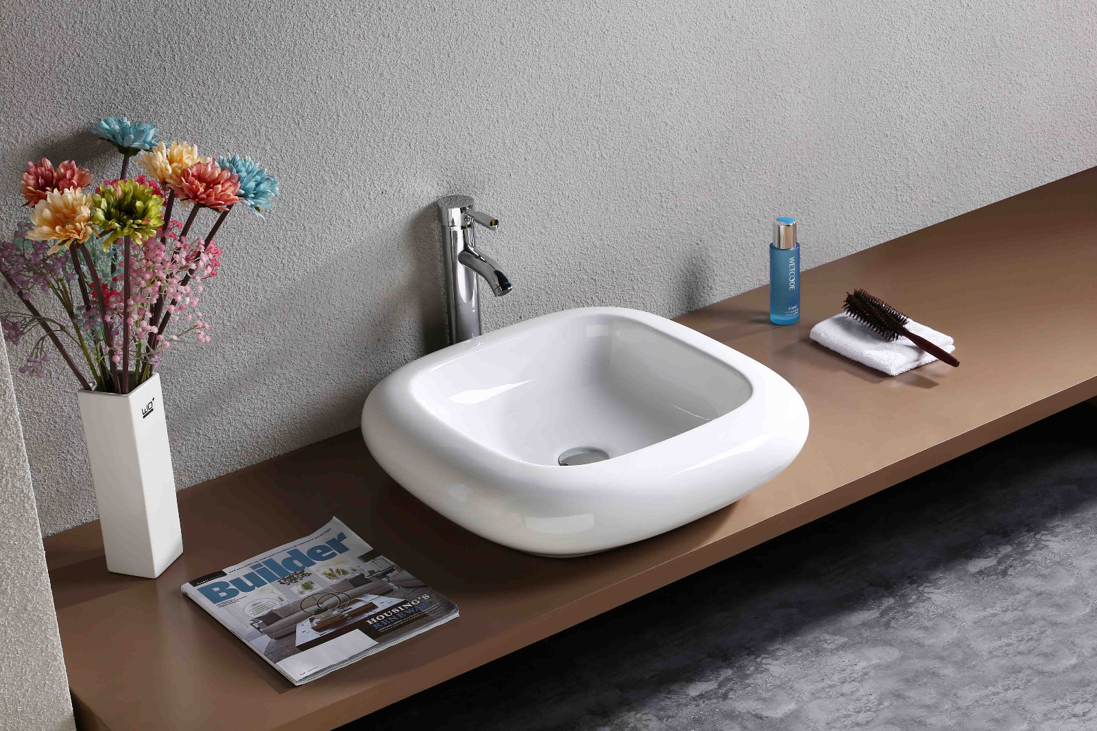 KEDIBO various design countertop basin order now for washroom-13