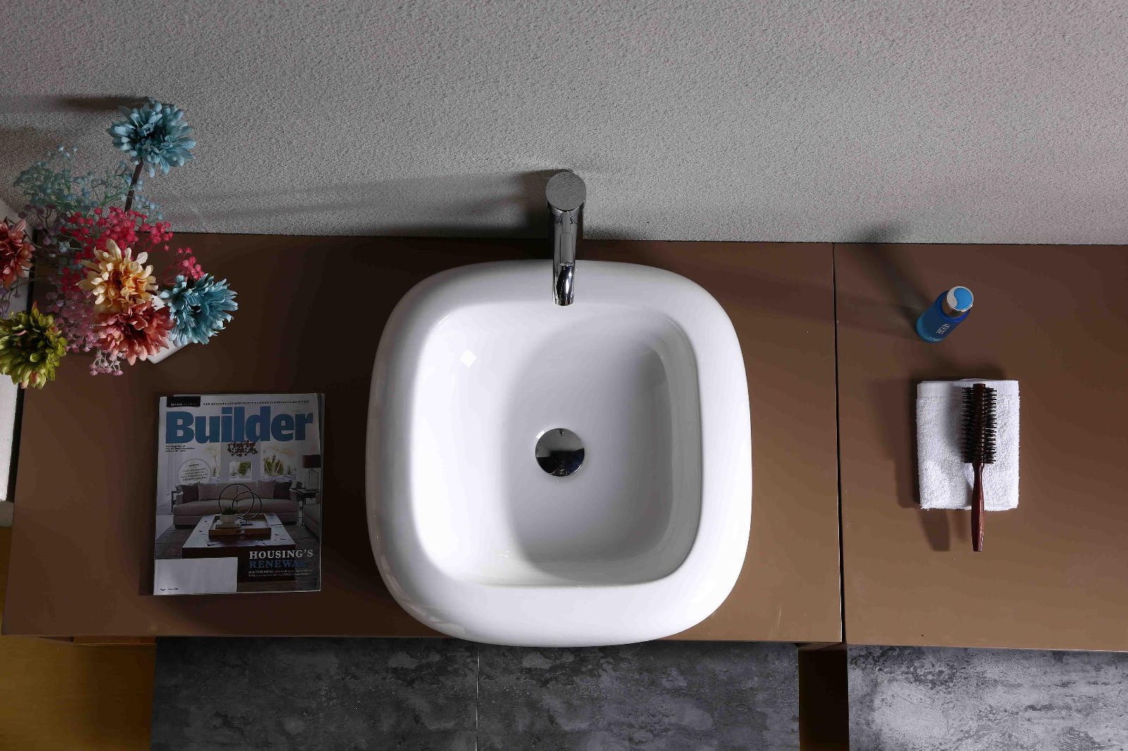 KEDIBO various design countertop basin order now for washroom