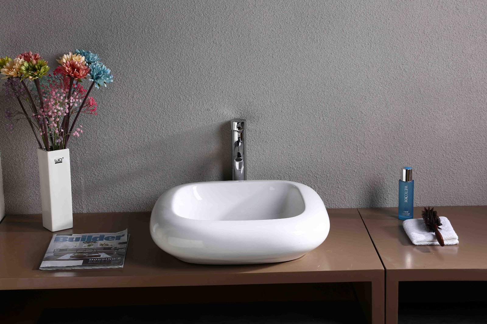 KEDIBO various design countertop basin order now for washroom-8