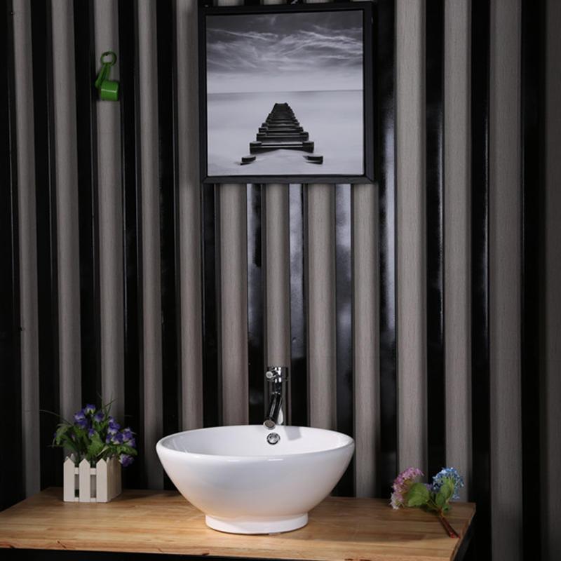 CERAMIC BATHROOM ROUND TOP MOUNTING BASIN  7008