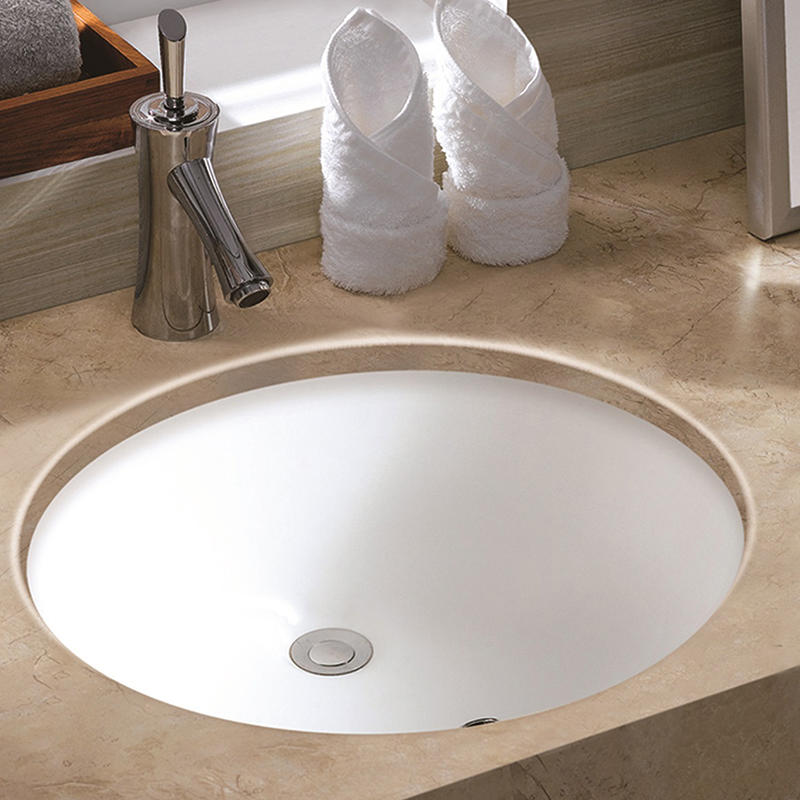 CERAMIC BATHROOM UNDER COUNTER CERAMIC BASIN HY-3024