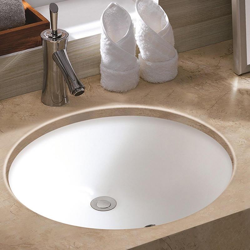 square undermount bathroom sink rigorous bathroom under counter basin ceramic KEDIBO Brand
