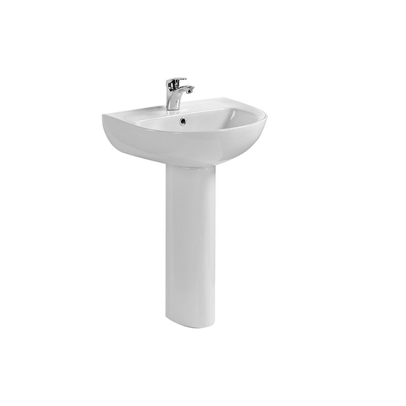OUTDOOR CERAMIC PEDESTAL BASIN 8204