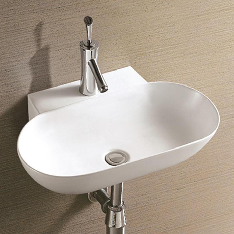 CERAMIC WALL HUNAG BASIN OVAL HY-3063