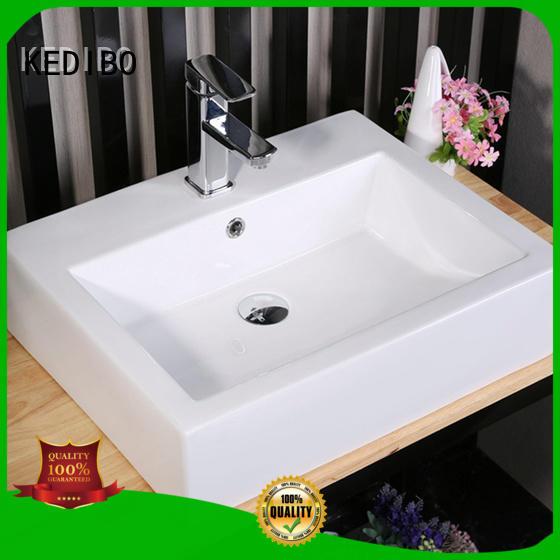 toilet wash basin design vanity counter certification Warranty KEDIBO