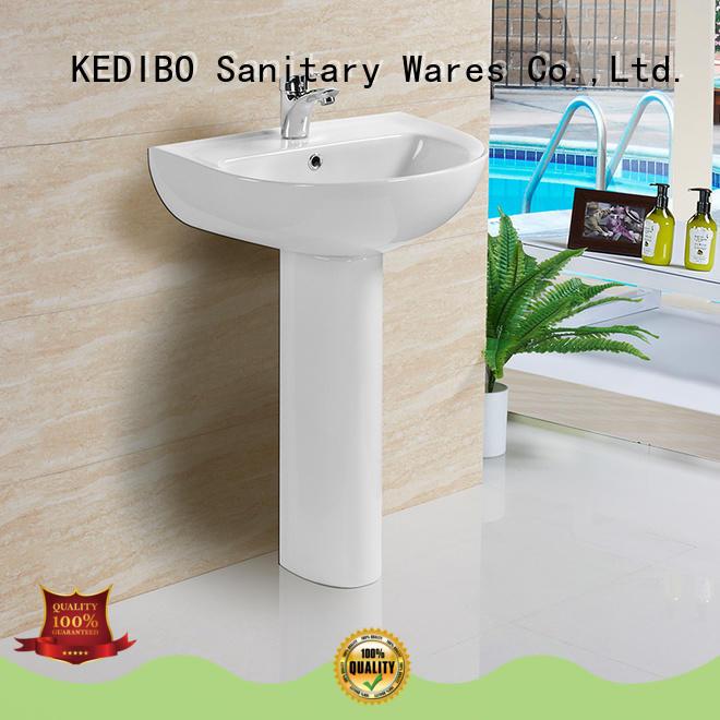 round pedestal basin design for super market KEDIBO
