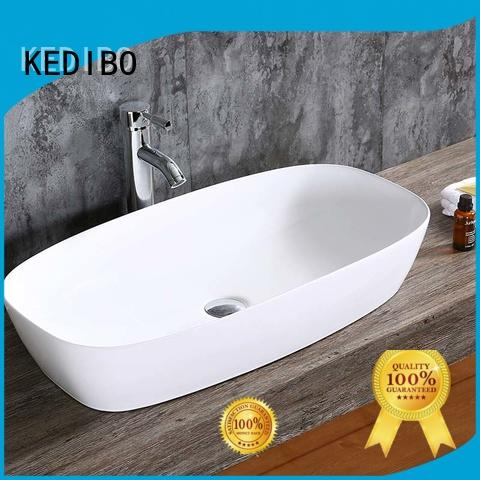 ceramic basins vanity for super market KEDIBO