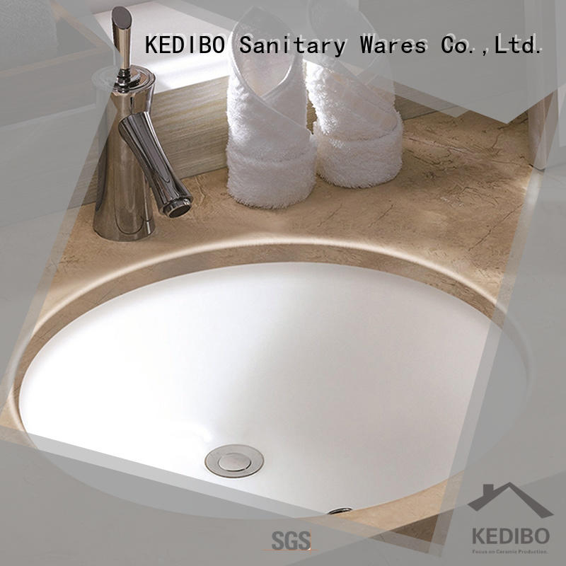 KEDIBO pratical under counter basin producer for bank