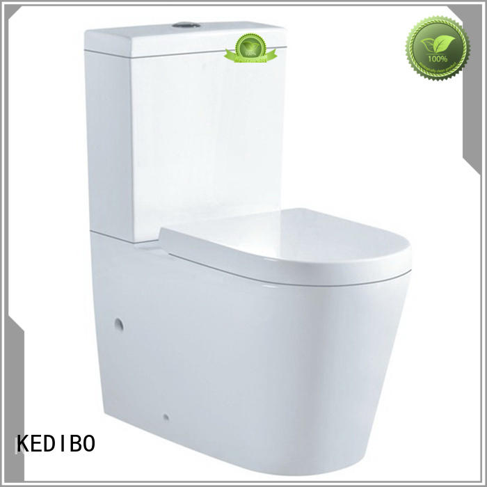 washdown two-piece toilet watermark KEDIBO company