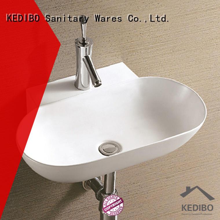 special wall mounted basin slim for bathroom KEDIBO