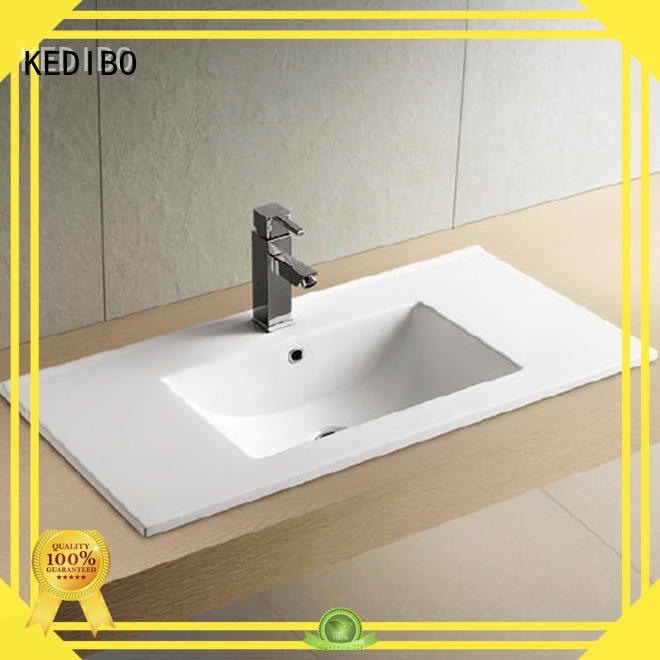 bathroom vanity ceramic basin thin models KEDIBO Brand company
