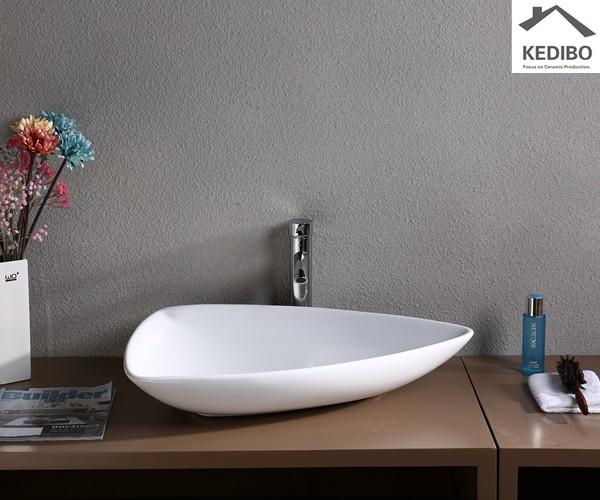 counter wash basin size for shopping mall KEDIBO