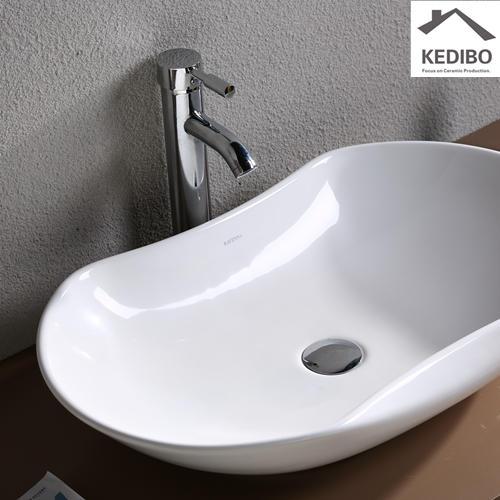 KEDIBO small countertop basin exporter for hotel