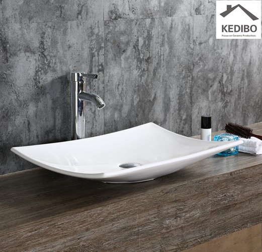 KEDIBO fashion large bathroom sinks for shopping mall-6
