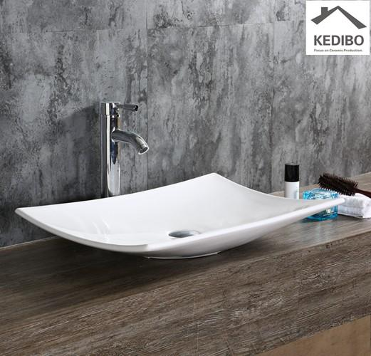 wash modern deisgn square KEDIBO Brand art basin supplier