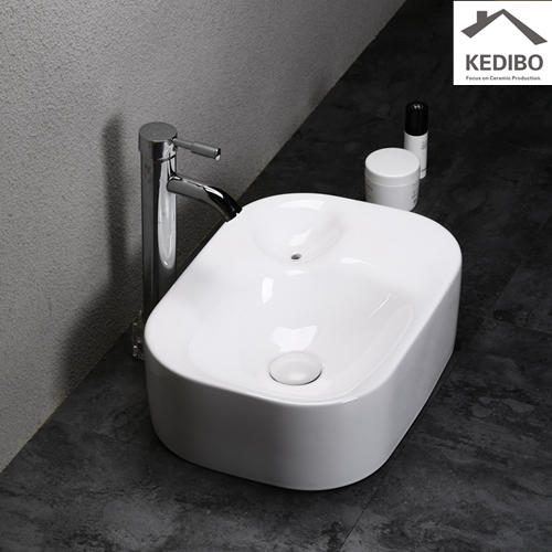 custom counter top wash basin exporter for shopping mall