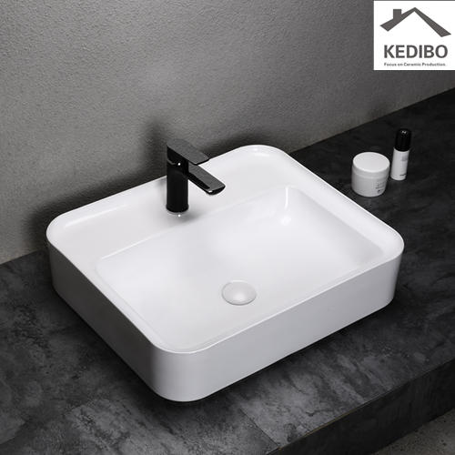 toilet wash basin design hole ce art basin KEDIBO Brand