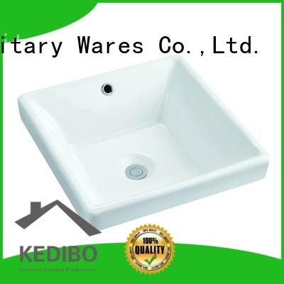 385x385 Square Bathroom Ceramic Above Counter Top Basin Sink 104