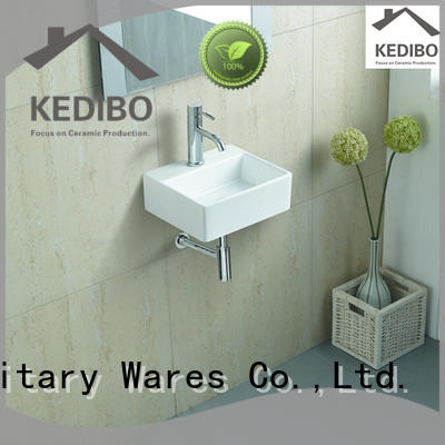 KEDIBO widely used wall mounted basin marketing for restaurant