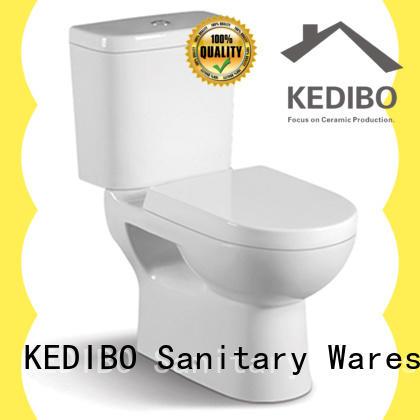 fashionable 1 piece toilet ceramic supplier for public washroom