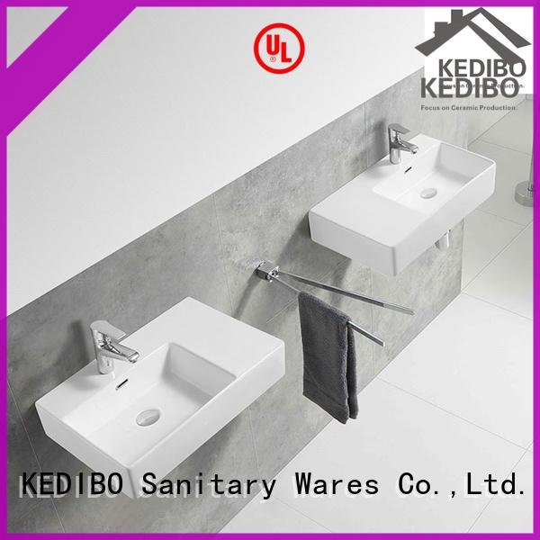 KEDIBO popular wall hung basin export for public washroom