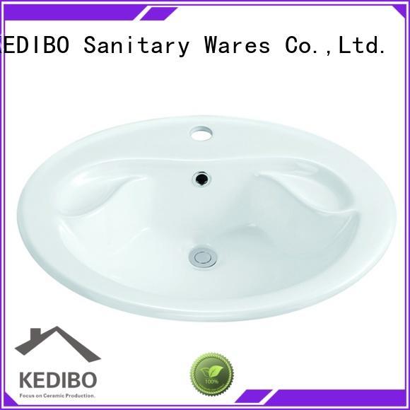 KEDIBO useful oval undermount bathroom sink dropshipping for super market