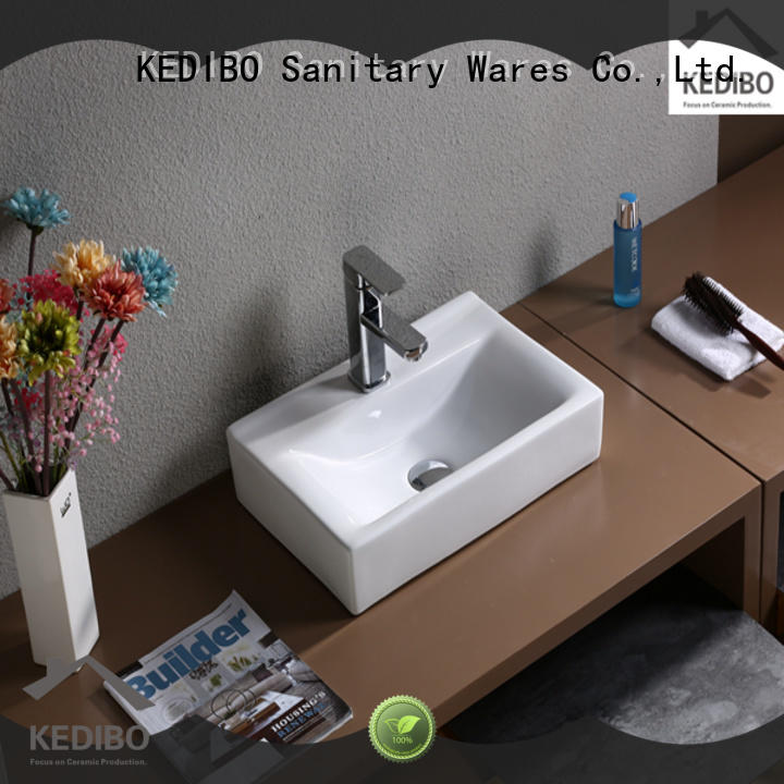 nice decorative bathroom sinks OEM ODM for toilet KEDIBO