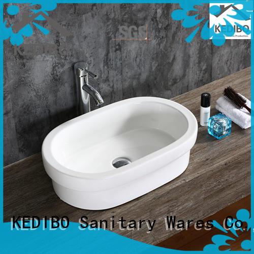KEDIBO oval ceramic basin order now for super market
