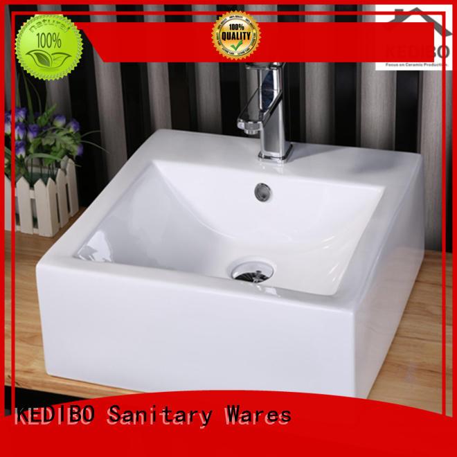 toilet wash basin design long top art basin sink KEDIBO Brand