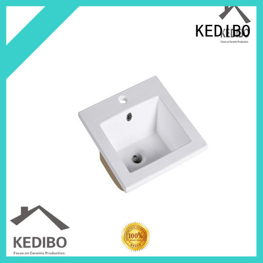 KEDIBO simple wash basin with cabinet vanity for airport