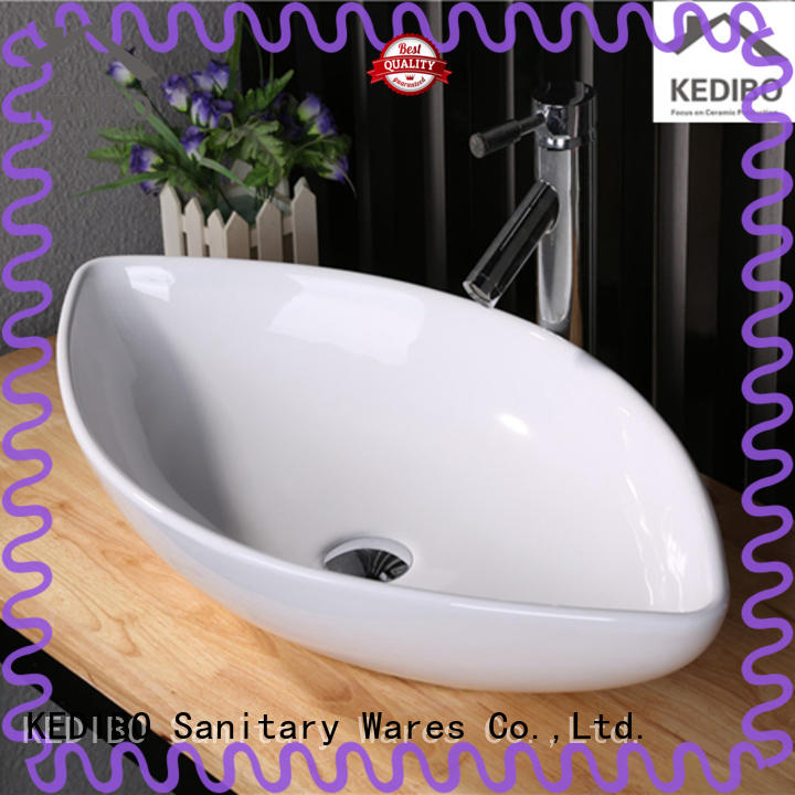 wide bathroom sink order now for washroom KEDIBO