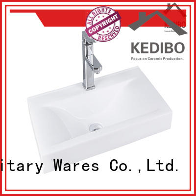 KEDIBO exporting wash basin with cabinet supplier
