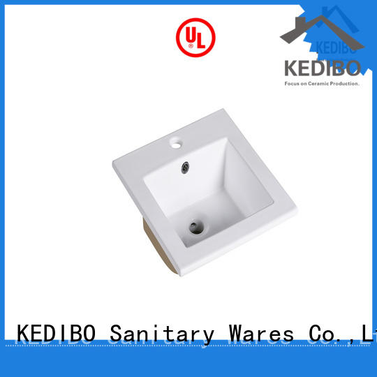 KEDIBO unique design wash basin with cabinet shop now for office building