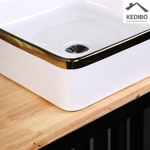 400X400 Square Decorate Bathroom Art Basin Sink 7607