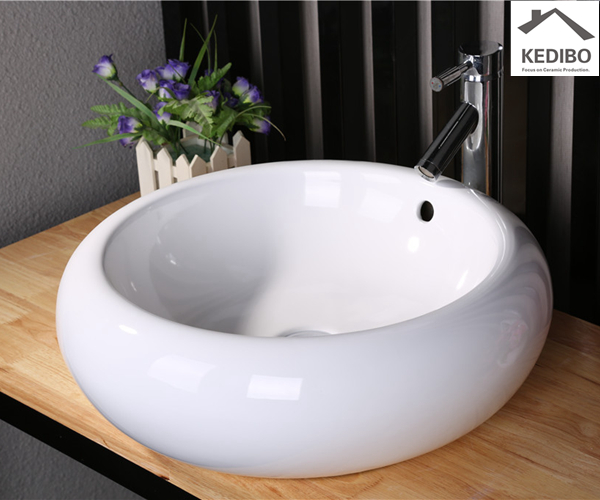 KEDIBO different types table top basin order now for toilet-1
