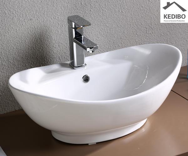 Modern Stylish Oval Art Basin (7003)