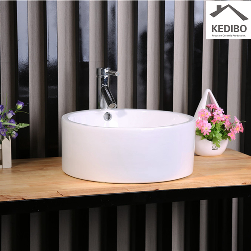custom oval ceramic basin OEM ODM for shopping mall-2