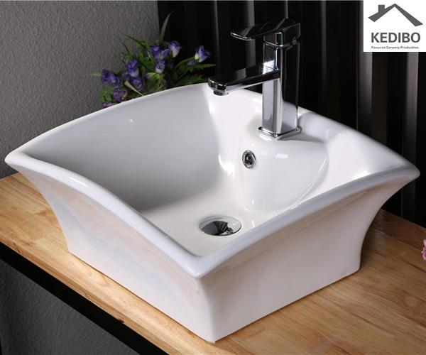 oval ceramic basin exporter for shopping mall