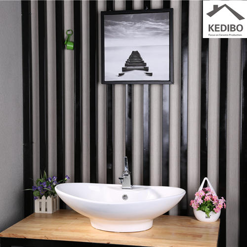 Bathroom Ceramic Top Mounted Wash Bowl 7025