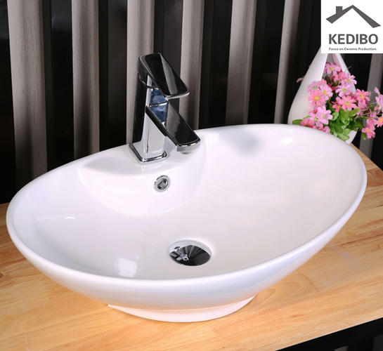 Bathroom CE Certification Ceramic Washing Bowl 7025C