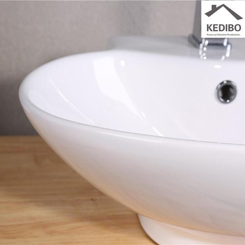 Bathroom Oval Ceramic Art Basin Bowl 7025E
