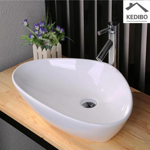 Bathroom Top Mounted Ceramic Art Basin 7025M