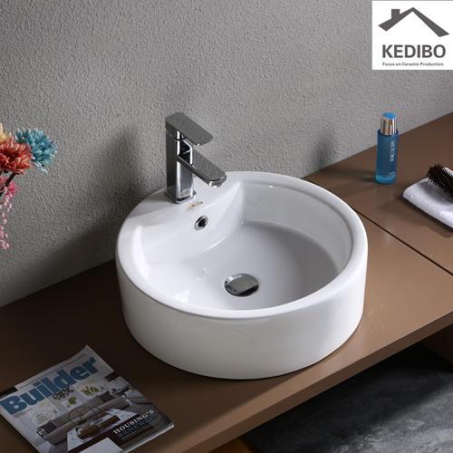 Bathroom Round Counter Top Art Basin 7026